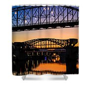 Holiday Lights Chattanooga #2 Shower Curtain