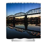 Holiday Lights Chattanooga #3 Shower Curtain