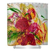 Holiday Love Shower Curtain