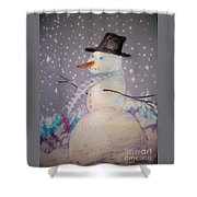Holiday Magic Shower Curtain