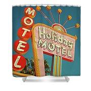 Holiday Motel, Las Vegas Shower Curtain