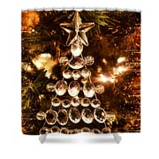 Holiday Shine 1 Shower Curtain