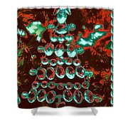 Holiday Shine 3 Shower Curtain