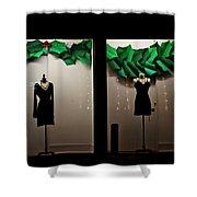 Holiday Window Fashion Shower Curtain