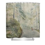 Holidays In Shimla Shower Curtain