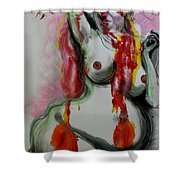 Holistic Gestation Iv Shower Curtain