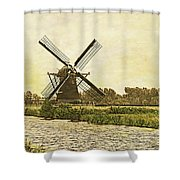 Holland - Windmill Shower Curtain