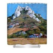 Hollister Peak Shower Curtain