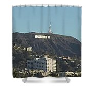 Hollyweed Sign Shower Curtain