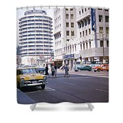 Hollywood And Vine California 1956 Shower Curtain