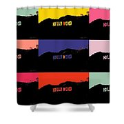 Hollywood Poster Art Shower Curtain