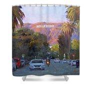 Hollywood Sunset Shower Curtain