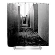 Holocaust Memorial Two Shower Curtain