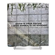 Holocaust Museum Of Jewish Heritage Ny Shower Curtain