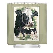 Holstein Shower Curtain