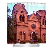 Holy Blessings Shower Curtain
