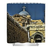 Holy City Shower Curtain