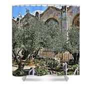 Holy Gardens Shower Curtain