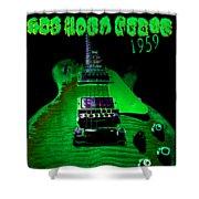 Holy Grail 1959 Retro Relic Guitar Shower Curtain