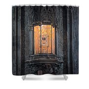 Holy Grail Valencia Spain Shower Curtain
