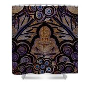 Holy In Peace And Acryl Shower Curtain
