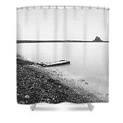 Holy Island - Minimalism Shower Curtain