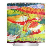 Holy Journey Shower Curtain