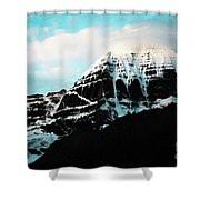 Holy Kailas East Slop Himalayas Tibet Yantra.lv Shower Curtain