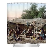 Holy Land: Bedouin Camp Shower Curtain