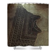 Holy Land: Masada Shower Curtain