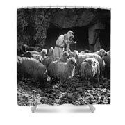 Holy Land: Shepherd, C1910 Shower Curtain
