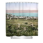 Holy Land: Tiberias Shower Curtain