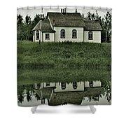Holy Pond Shower Curtain