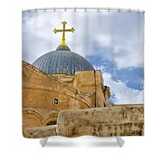 Holy Sepulcher Shower Curtain