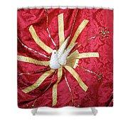 Holy Spirit Flag Shower Curtain