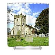Holy Trinity Church - Ashford-in-the-water Shower Curtain