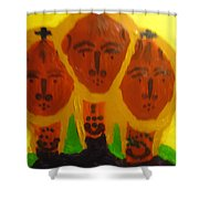 Holy Trinity Shower Curtain