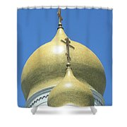 Holy Virgin Cathedral In San Francisco Shower Curtain
