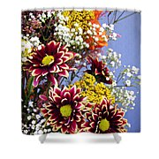 Holy Week Flowers 2017 4 Shower Curtain