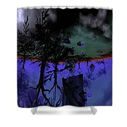 Homage  Shower Curtain