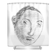 Homage To Georges Seurat Shower Curtain