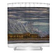 Homage To Hokusai Shower Curtain