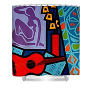 Homage To Matisse II Shower Curtain