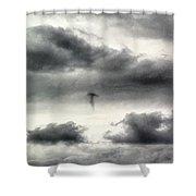 Homage To Stieglitz #3 Jellyfish Shower Curtain