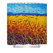 Homage To Vincent Shower Curtain