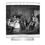 Home Again - Civil War Shower Curtain
