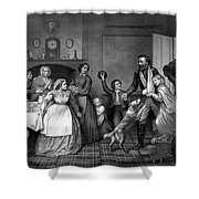 Home Again - Civil War Shower Curtain