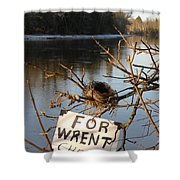 Home By Water For Wrent Cheep Shower Curtain