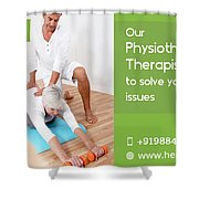 Home Care Medical Services Shower Curtain