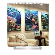 Home Decorations Shower Curtain